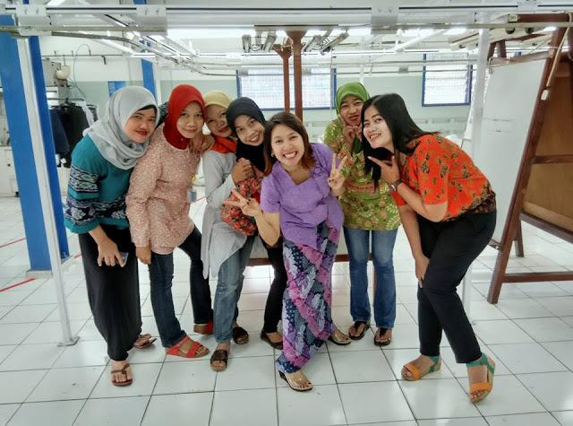 wefie batik