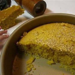 A Lebanese dessert that is not overly sweet Semolina Turmeric Cake (Sfoof) Recipe