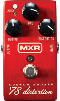 Tone Warrior Product Review Mxr Custom Badass 78 Distortion