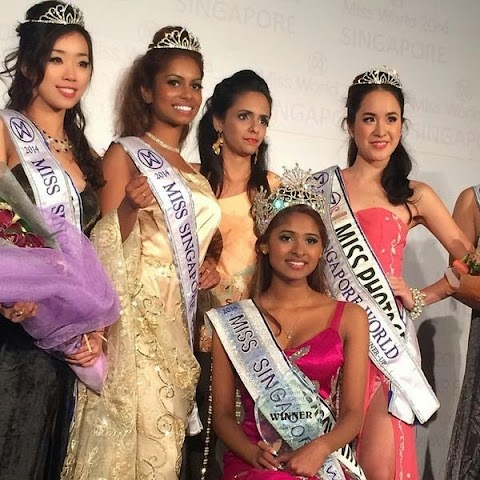 Miss Singapore World 2014