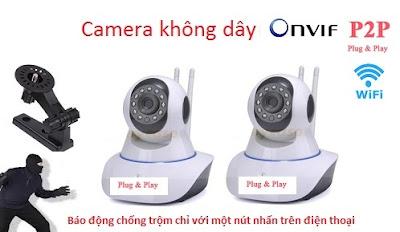 Camera IP wifi tai Hai Phong, Bán camera IP wifi giá rẻ tại Hải Phòng