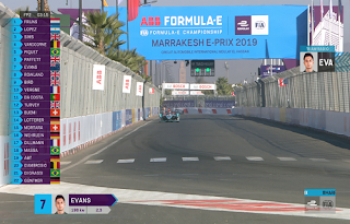 FIA Formula E Marrakesh E-Prix Biss Key Eutelsat 10A 12 January 2019