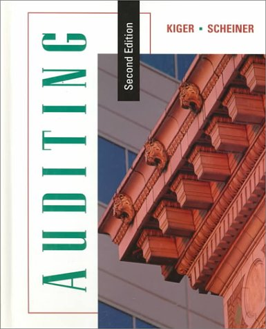 Auditing, Second Edition by Jack E. Kiger and Kiger