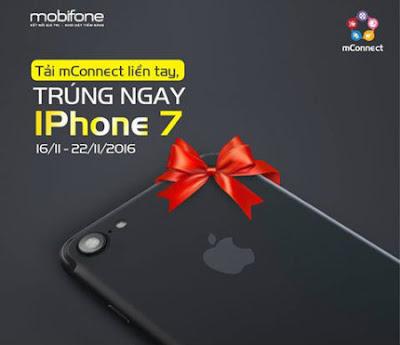 Tải mConnect để nhận ngay iPhone 7