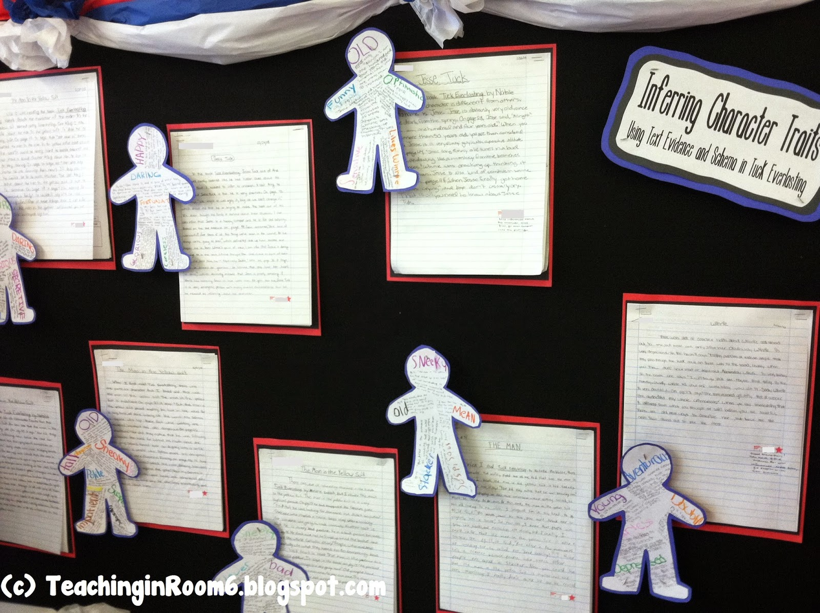 Fifth Grade Freebies Character Traits Through Inference