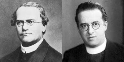 Fr. Gregor Mendel & Fr. Georges Lemaitre