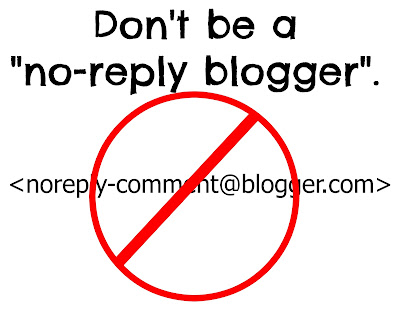 Image result for no reply blogger pics
