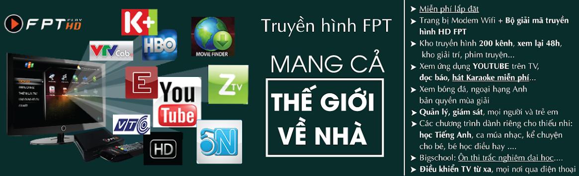 Lắp đặt mạng truyền hình HD tốc độ cao, giá rẻ tại Hà Nội, Long Biên, Gia Lâm