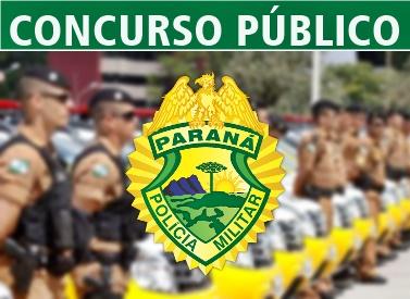 concurso PMPR 2017 Soldado