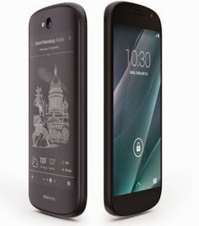 Review Smartphone Yotaphone 2