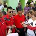 Gerakan baju merah minta David Teo Mohon Maaf Kepada Semua Rakyat Malaysia