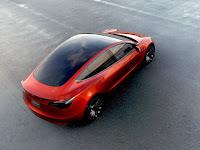 Tesla Model 3 (Credit: Tesla) Click to Enlarge.