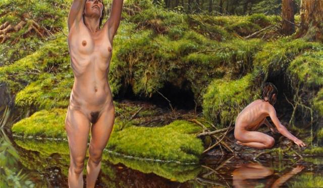 Ню и портреты в изобразительном искусстве. Susannah Martin 16+ 24