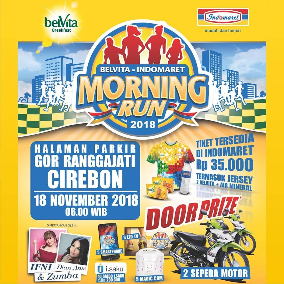 Belvita-Indomaret Morning Run Cirebon 2018