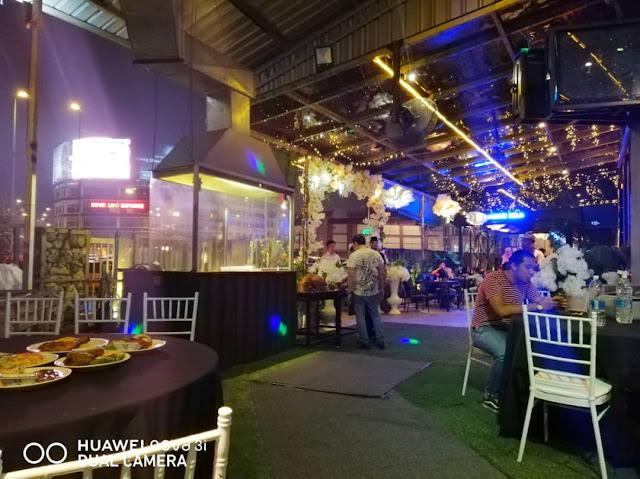 H Garden Cafe Tawarkan Majlis Berkonsepkan Taman