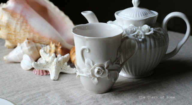 Starfish Sea Themed Tea: The Charm of Home