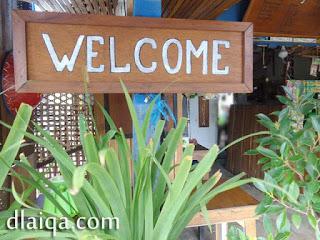 welcome (selamat datang)