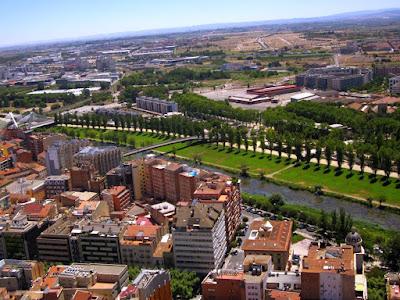 Parc del Segre en Lleida