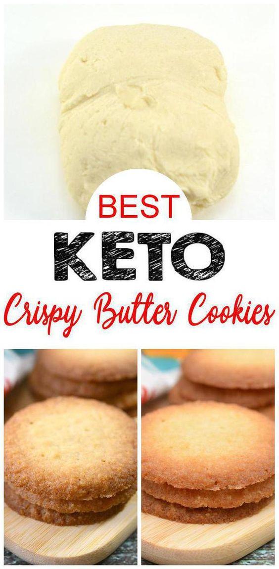 Keto Butter Sugar Cookies