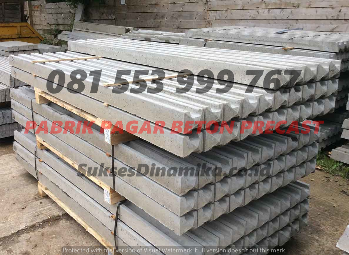 Harga Pagar Beton Panel Precast Jombang, Desain Pagar Beton Minimalis