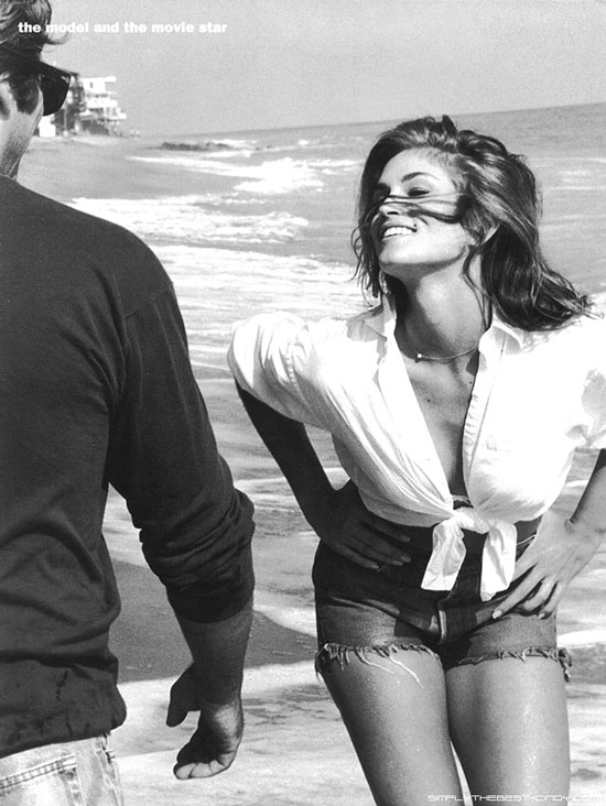 Richard Gere and Cindy Crawford by Herb Ritts for Vogue