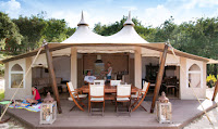 RoyalLodge, tenda di design