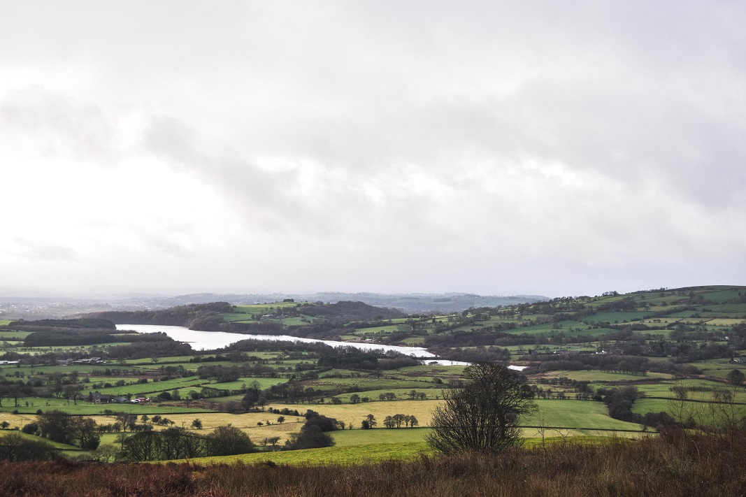 A view of Tittesworth reservoir