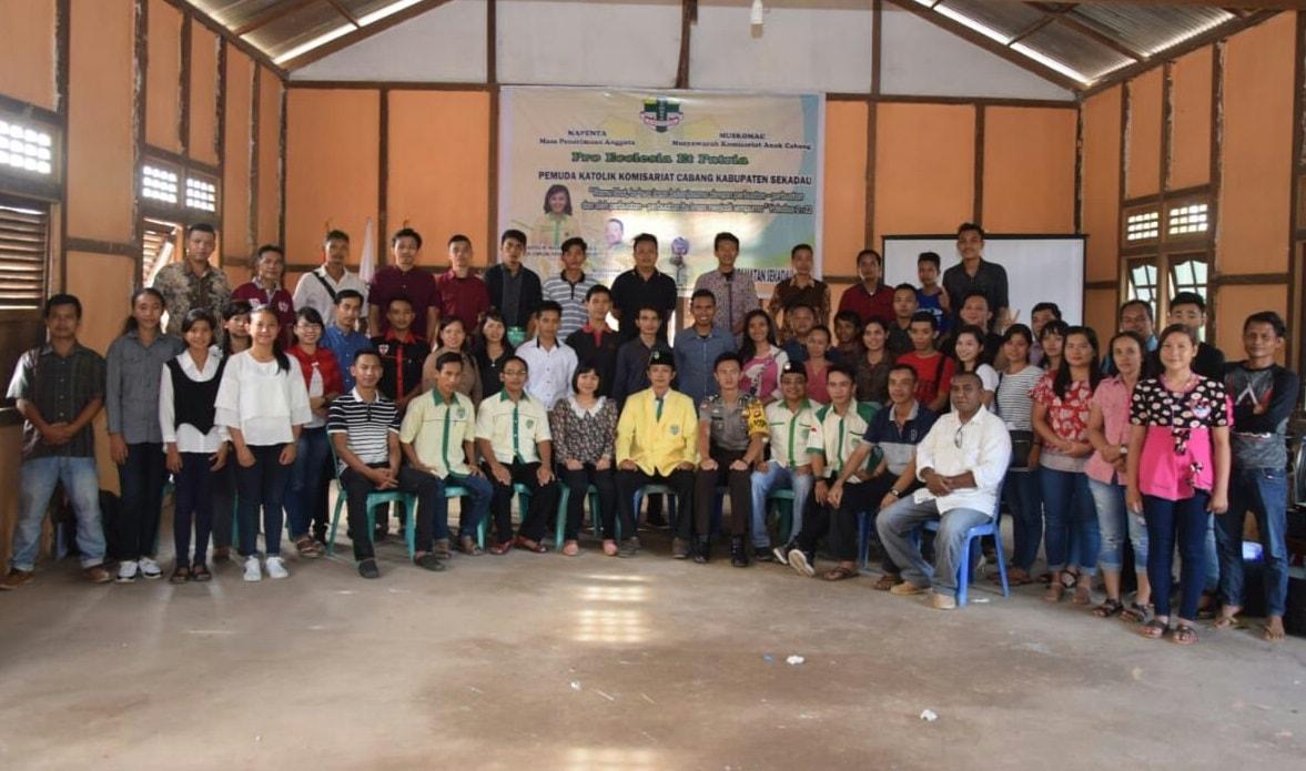 Pemuda Katolik Komisariat Cabang Sekadau bentuk pengurus Komisariat Anak Cabang Sekadau Hilir