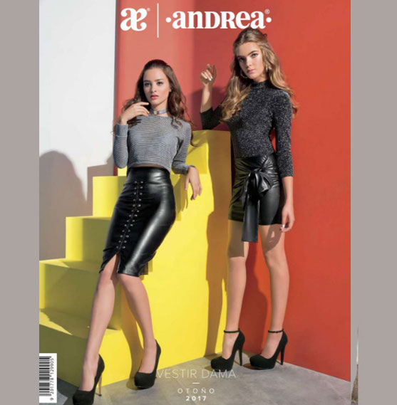 Catalogo de Ropa Andrea Otoño invierno 2017