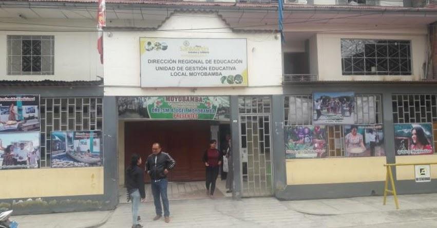DRE San Martín informa que el pago a los docentes nombrados y contratados está asegurado