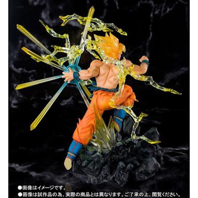 "Figuarts Zero Super Saiyan Son Goku The Burning Battles de ""Dragon Ball Z"" - Tamashii Nations"