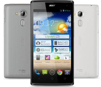Download Firmware Acer Liquid Z5 Z150