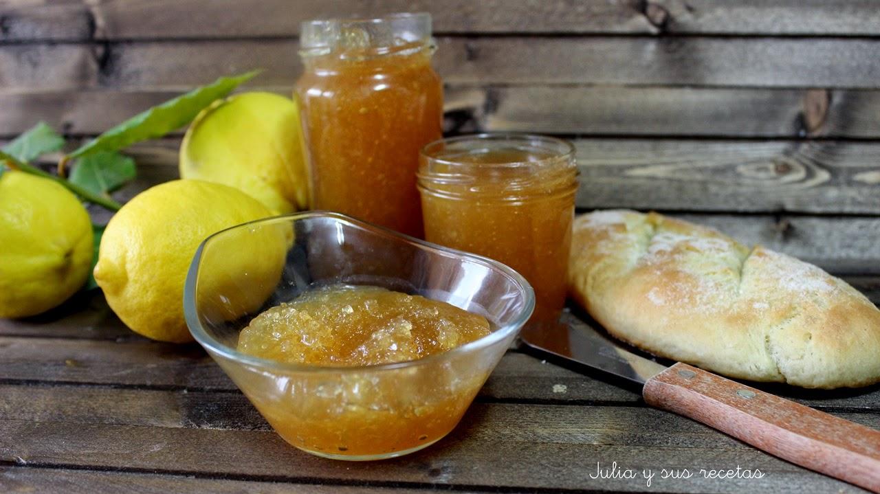 Mermelada de limón. Julia y sus recetas