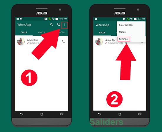 saliders, Bagaimana cara mudah mengganti nomor Telpon / hape WhatsApp, cara mengganti nomor whatsapp tanpa kehilangan akun, dan tanpa root, tanpa kehilangan history chat atau pesan