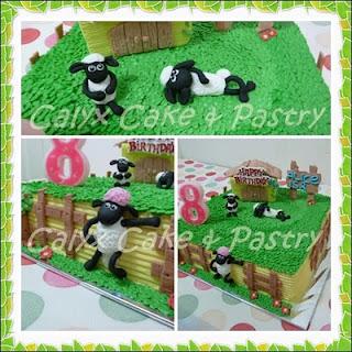 Calyx Cake Amp Pastry Birthday Cake Shaun The Sheep For Alice