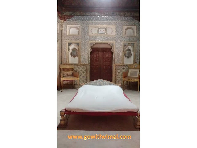 Bedroom in Junagarh fort
