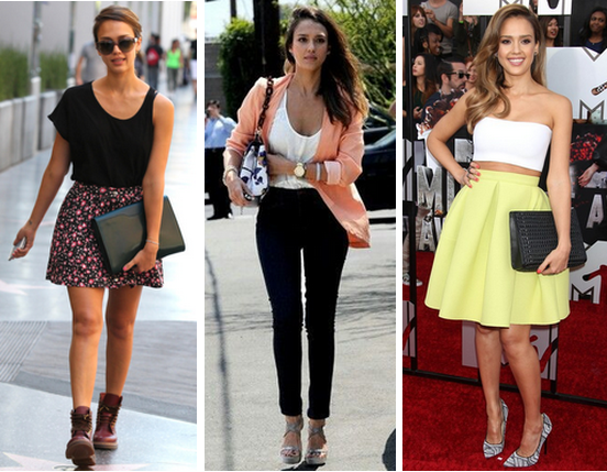 Knots and Ruffles: Get the Style: Jessica Alba's Spring ...