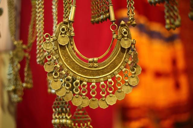 Banjara style coin jewellery