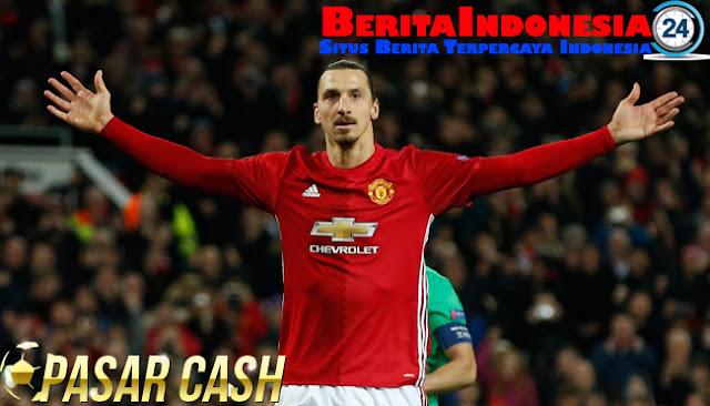Manchester United Siapkan 20 Juta Pounds Untuk Ibrahimovic