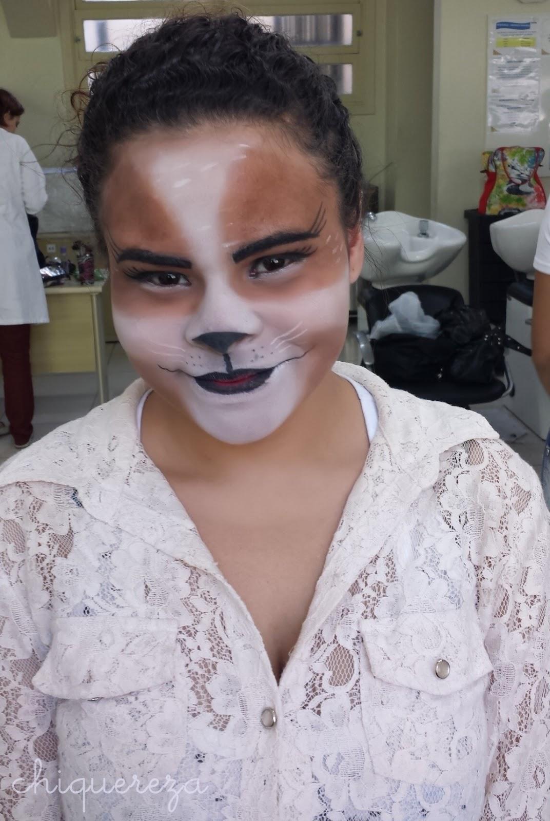 curso senac maquiador profissional, maquiagem gato