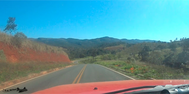 Estrada, Milho Verde, Serro, Minas Gerais, Caminho dos Diamantes, Estrada Real