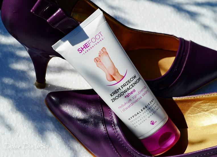 SheFoot kosmetyki do pielęgnacji stóp - krem przeciw zrogowaceniom