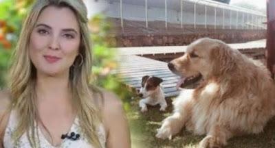 Marcela Temer pula em lago para salvar cão e afasta funcionária que não ajudou
