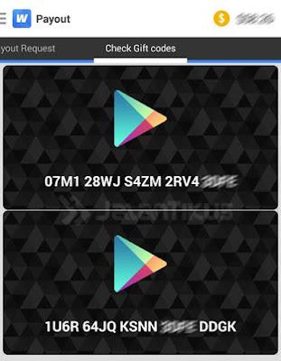 Melakukan Penarikan Dollar Dari Whaff Rewards Ke Google Wallet