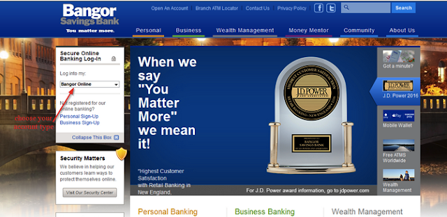 Bangor Savings Bank Online Banking Login