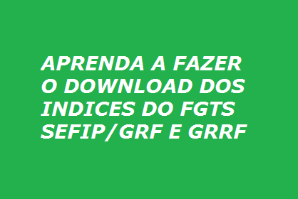 Índices do FGTS
