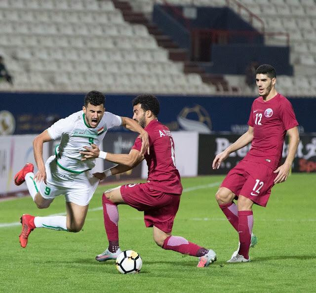 موعد مباراة العراق وقطر في كأس اسيا 22-1-2019