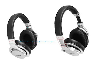 Takstar PRO 82 USB Wired Professional Studio Dynamic Monitor Headphone Adjustable Headset for Computer Recording - Silver