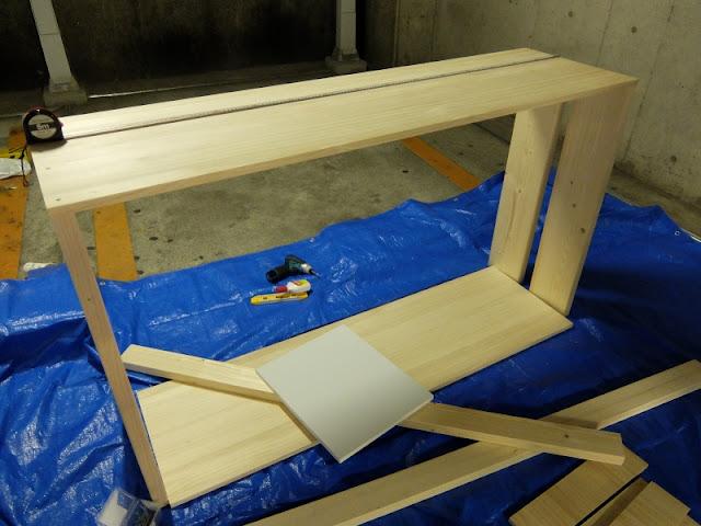 オリジナルDJ家具製作『Still』by VIBESRECORDSで製作したDJテーブルの写真です。