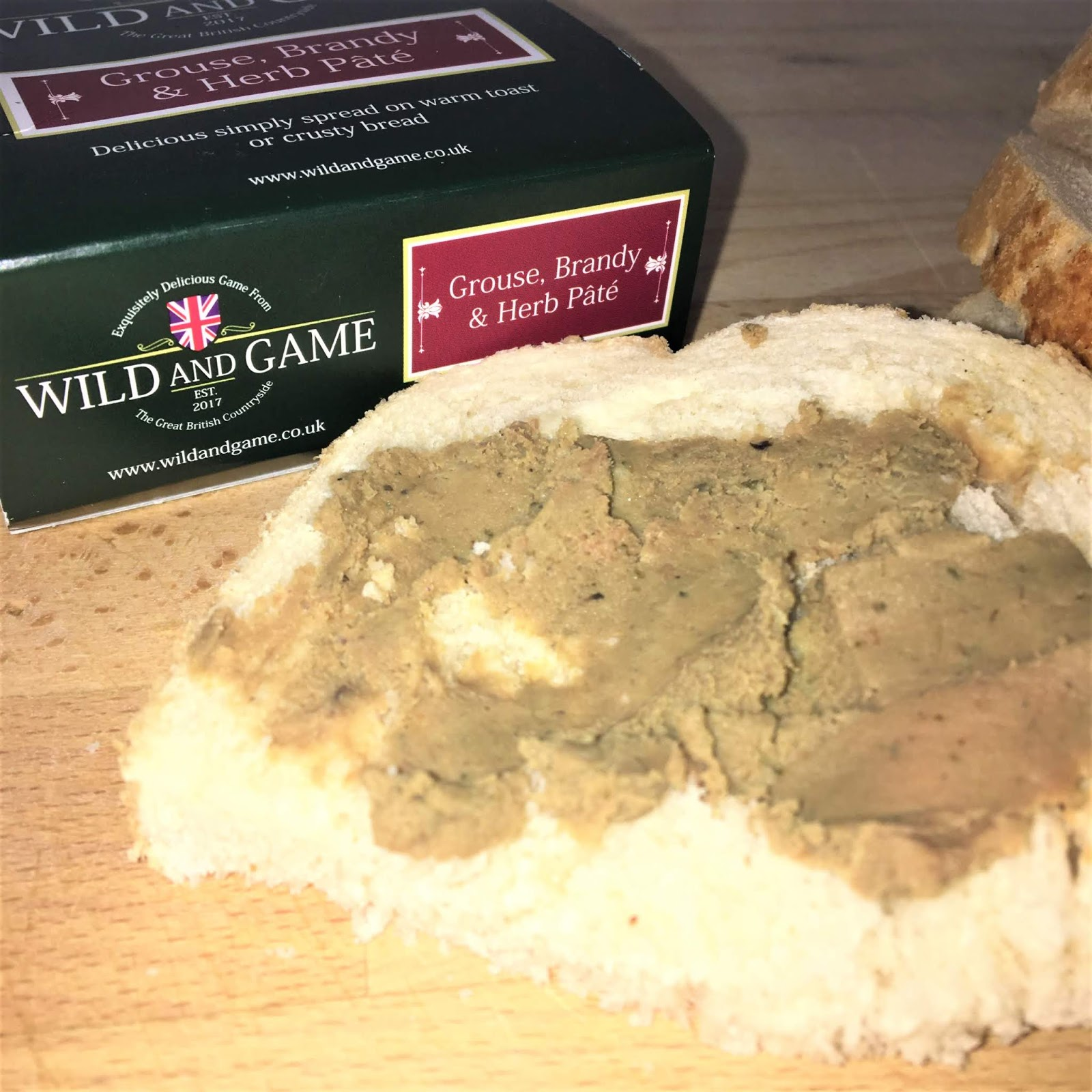 Grouse, Brandy & Herb Pâté